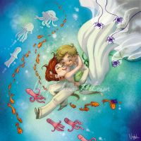 The Lovers by Nephyla