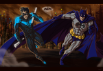 Gotham's Knight's by mangakasan