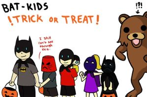 Bat Family Halloween 2010 by CrimsonHorror