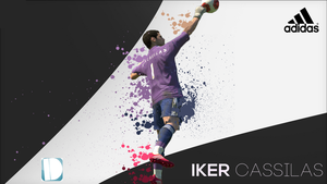Iker Casillas PES 2014 Wallpaper by IndividualDesign