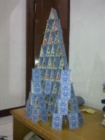 My Card Tower 4 by RoyCorleone