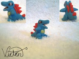 158 Totodile by VictorCustomizer