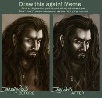 Draw This Again! [THORIN] by AngieParadiseeker