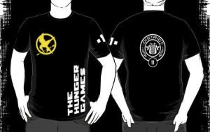 Hunger Games District Shirt by SikkPup