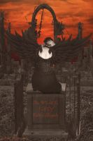 Fallen Angel by Shirley-Agnew-Art