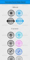 40 Social Media Stamps by KL-Webmedia