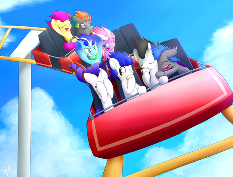 Commission - Fun at the fair by ShinodaGE