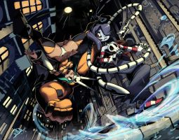 Squigly vs Cerebella by oh8