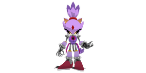 Metal Blaze for MMD by MakutaKorzak