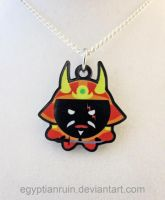Japanese Samurai Bushi Octopus Necklace by egyptianruin