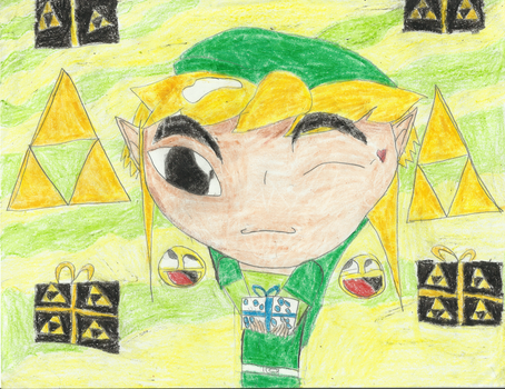 A gift from toon link by fourswordslink