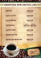 Coffee Menu by Kenichi-Japan