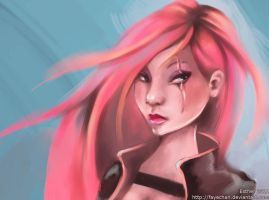 Katarina again by fayechan