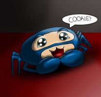 Spycrab Wants a Cookie by Art1st4786