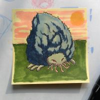 Post-It Creatures #4 by tanggod