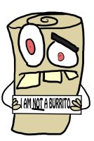 I am not a burrito by XxTheShatteredxX