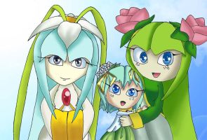 Seedrian Family Picture by Lucky-Sonic-77-d