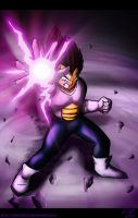 Vegeta, Saiyan Warrior by Chaotic--Edge