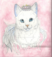 Tiara Cat by Camaru