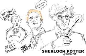 Sherlock Potter. by superfizz
