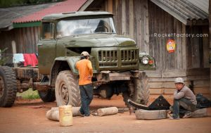 Fixing the truck by frankrizzo