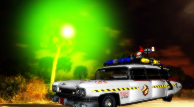 MMD Newcomer Ecto-1 +DL by Valforwing