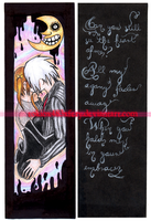 Soul x Maka bookmarker by Tokiox483xFery