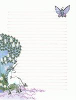 The Last Unicorn stationary by Feilan