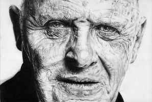 Anthony Hopkins by kittyhawkk