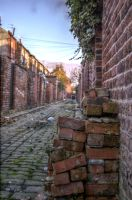Bricks HDR by johnwaymont