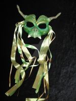 Green Gargoyle neoprene mask by Freja11