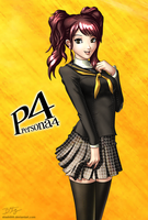 Rise Kujikawa - Persona 4 by slash000