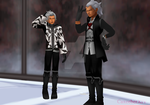 Kid!ansem and xemnas DL by CaxceberXVI