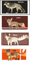 Character Adoptable batch CLOSED by Capukat