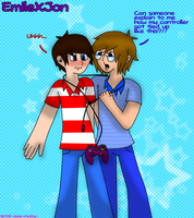 Tied up in video games - EmileXJon by BOTDF-Sonic-Pm2fan
