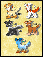 VERY CHEAP Pup adopts batch #2 (CLOSED) by AR-ameth