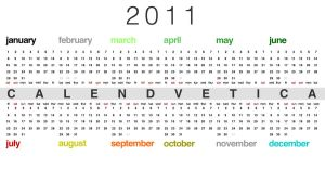 Calendvetica by greenpuddle