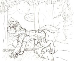 Couldn't Wait (Wolf TF) by TimidTabby84