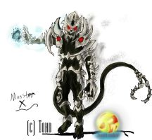 Go G: Monster X by Vagrant-Verse
