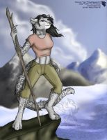 Tara in Tibet - Commission by Ulario