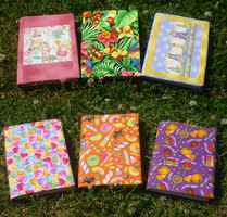 3 reversible book covers by Magical525