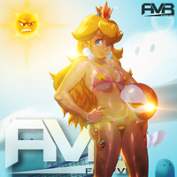 AVR Forever Peach Ad by Crazed-Artist