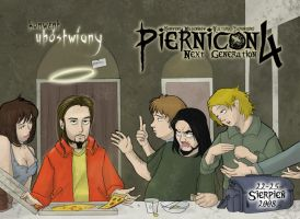 PierniCON 4 poster by JWC