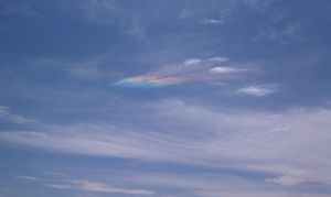 Rainbow in the Clouds 2 by ThePoisonSword