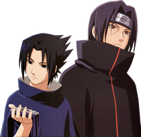 Sasuke_Itachi:Render:.png by LinhchanX