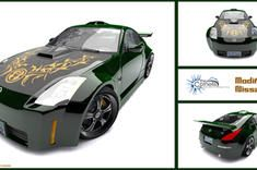 Modified Nissan 350z by cyrus-kanca