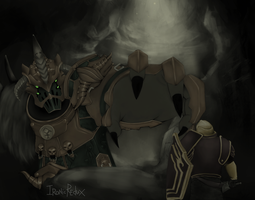 How Bandos lost an eye by Ironic-Redux