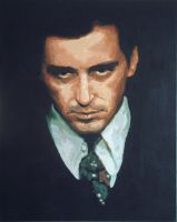 The Godfather - Al Pacino by willorbit