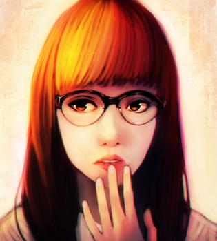 Glasses by InkyTophat