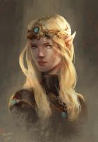 Elf princess by Matija5850